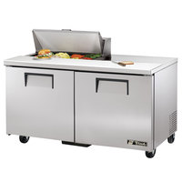 True TSSU-60-8 60 inch Two Door Sandwich / Salad Prep Refrigerator
