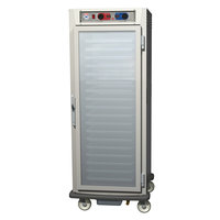 Metro C599-SFC-UPFS C5 9 Series Pass-Through Heated Holding and Proofing Cabinet - Solid / Clear Doors