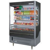 Beverage Air VM18-1-G Gray VueMax Air Curtain Merchandiser 51 inch - 18 Cu. Ft.