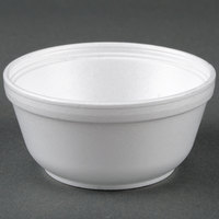 Dart Solo 12B32 12 oz. Insulated White Customizable Foam Bowl - 1000 / Case