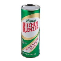 Fitzpatrick Bros 13231 The Original Kitchen Klenzer 21 oz. All Purpose Powder Cleanser With Bleach 24 / Case