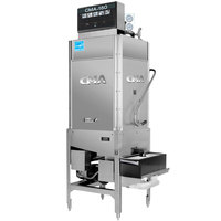 CMA Dishmachines CMA-180TB-S Single Rack High Temperature Straight Tall Dishwasher with Booster Heater - 208/240V, 1 Phase