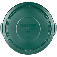Rubbermaid FG263100DGRN BRUTE Green 32 Gallon Trash Can Lid