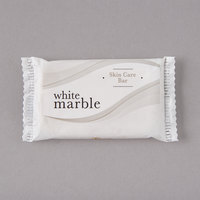 Dial White Marble Tone Skin Care Soap 0.75 oz. - 1000/Case