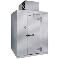 Kolpak QS6-054-FT Polar Pak 5' x 4' x 6' Indoor Walk-In Freezer with Top Mounted Refrigeration