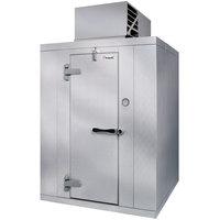 Kolpak QS7-054-FT Polar Pak 5' x 4' x 7' Indoor Walk-In Freezer with Top Mounted Refrigeration
