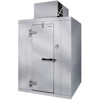 Kolpak QS7-086-FT Polar Pak 8' x 6' x 7' Indoor Walk-In Freezer with Top Mounted Refrigeration