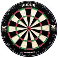 Nodor ND400 Supawires 18 inch x 1 1/2 inch Bristle Dartboard