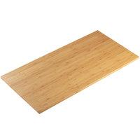 Cal-Mil 1435-1624-60 Bamboo 16 inch x 24 inch Rectangular Riser Shelf