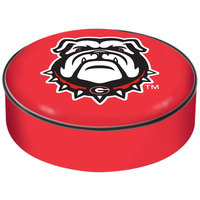 Holland Bar Stool BSCGA-Dog 14 1/2 inch University of Georgia Vinyl Bar Stool Seat Cover