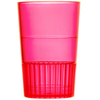 Fineline Quenchers 4115-RD 1.5 oz. Neon Red Hard Plastic Shooter Glass 10 / Pack
