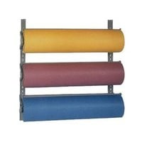Bulman T292-12 12 inch Horizontal Three Paper Roll Wall Rack