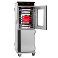 Cres Cor H-138-NPS-CC3MQ Insulated Full Height Stainless Steel Pass-Through Holding Cabinet - 120V, 2000W