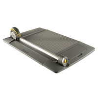 Westcott ACM15100 TrimAir 21 inch x 9 inch 15 Sheet Titanium Rotary Paper Trimmer with Metal Base