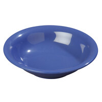Carlisle 3303214 7 1/2 inch Ocean Blue Sierrus 16 oz. Rimmed Bowl - 24 / Case