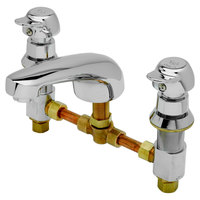 T&S B-2991-PA EasyInstall Deck-Mounted Lavatory Faucet with Pivot Action Metering Assembly
