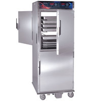 Cres Cor CO-151-FPW-UA-12DE Pass-Through Roast-N-Hold Convection Oven with Standard Controls and AquaTemp System - 240V, 3 Phase, 8000W
