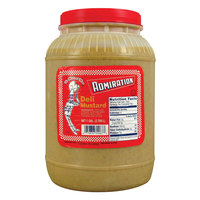 Admiration Deli Mustard 1 Gallon Containers - 4/Case