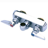 T&S B-1115-LN Wall Mounted Workboard Faucet Base with 4 inch Centers