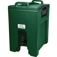 Cambro UC1000519 Green Ultra Camtainer 10.5 Gallon Insulated Beverage Dispenser