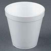 Dart Solo 16MJ20 16 oz. Customizable Medium Squat White Foam Food Bowl - 500/Case