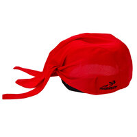 Headsweats 8800-803 Red 100% Performance Fabric Adjustable Chef Bandana / Do Rag