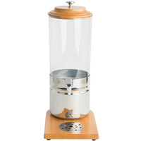 Choice 1.8 Gallon Wood and Polycarbonate Single Beverage Dispenser
