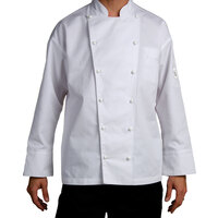 Chef Revival J023-4X Chef-Tex Size 60 (4X) Customizable Poly-Cotton Classic Chef Jacket