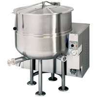 Cleveland KGL-100 Natural Gas 100 Gallon Stationary 2/3 Steam Jacketed Kettle - 190,000 BTU