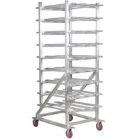Winholt CR-162M #10 Mobile Aluminum Can Rack
