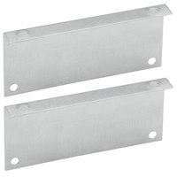 Vollrath 44545 1 inch Infared Food Warmer Top Surface Mount Bracket - 2/Pack