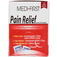 Medi-First Pain Relief Tablets / Pain Reliever - 100 / Box
