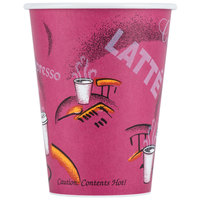 Dart Solo 412SIN-0041 Bistro 12 oz. Poly Paper Hot Cup - 1000 / Case