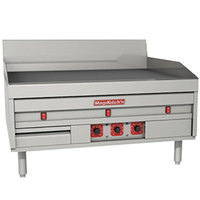 MagiKitch'n MKE-48-ST 48 inch Electric Countertop Griddle with Solid State Thermostatic Controls - 208V, 1 Phase, 22.8 kW