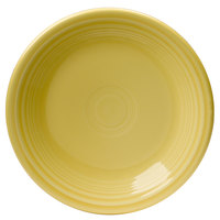 Homer Laughlin 464320 Fiesta Sunflower 7 1/4 inch Salad Plate - 12 / Case