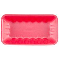 Genpak 1010K (#10K) Rose 10 3/4 inch x 5 3/4 inch x 2 inch Foam Supermarket Tray - 250/Case