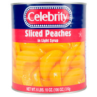 Sliced Peaches in Light Syrup 6 - #10 Cans / Case