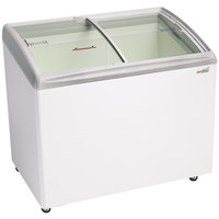 Excellence RIO-S-100 Curved Lid Display Freezer - 6.7 cu. ft.