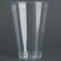 Fineline Savvi Serve 414 14 oz. Tall Clear Hard Plastic Tumbler - 500/Case