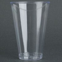 Fineline Savvi Serve 414 14 oz. Tall Clear Hard Plastic Tumbler - 500 / Case