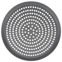 American Metalcraft CAR14SPHC 14 inch Super Perforated Hard Coat Anodized Aluminum CAR Pizza Pan