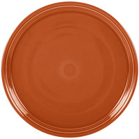 Homer Laughlin 505334 Fiesta Paprika 15 inch China Pizza / Baking Tray - 4 / Case