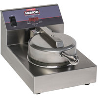 Nemco 7000A-S240 SilverStone Non-Stick Single Waffle Maker - 240V