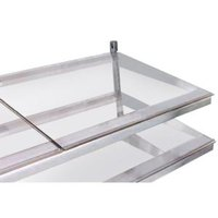 True 914816 Glass Shelf - 26 3/4 inch x 21 3/4 inch