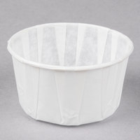 Genpak F400 4 oz. Harvest Paper Souffle / Portion Cup   - 5000/Case