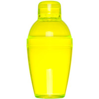 Fineline Quenchers 4102-Y 10 oz. Yellow Plastic Shaker 24 / Case