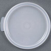 Cambro RFSC1148 1 Qt. White Round Lid