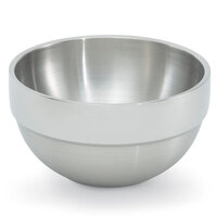 Vollrath 46665 24 oz. Double Wall Stainless Steel Round Satin-Finished Serving Bowl