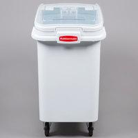 Rubbermaid FG360288WHT ProSave 26.2 Gallon Ingredient Storage Bin with 32 oz. Scoop