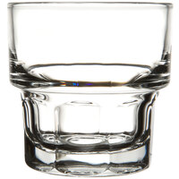 Libbey 15661 Stackable Gibraltar 7 oz. Rocks Glass - 36 / Case